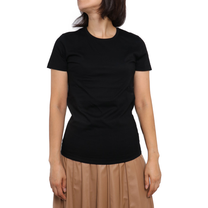【送料無料!】モンクレール MONCLER レディース Tシャツ 8C732 999 ブラック【BLACK】 8C73200 V8058