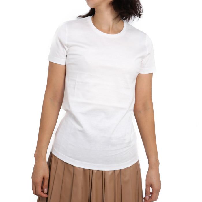 【送料無料!】モンクレール MONCLER レディース Tシャツ 8C732 033 ホワイト【WHIITE】 8C73200 V8058