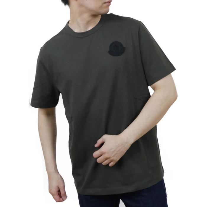 【送料無料!】モンクレール MONCLER メンズ 半袖 Tシャツ カットソー 8C7E2 8C7E210 8390T 84 カーキ【KHAKI】