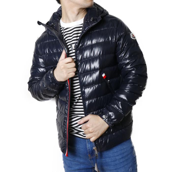 【送料無料!】モンクレール MONCLER メンズ ダウン ジャケット ブルゾン BLESLE 1B59700 68950  ネイビー【NAVY】