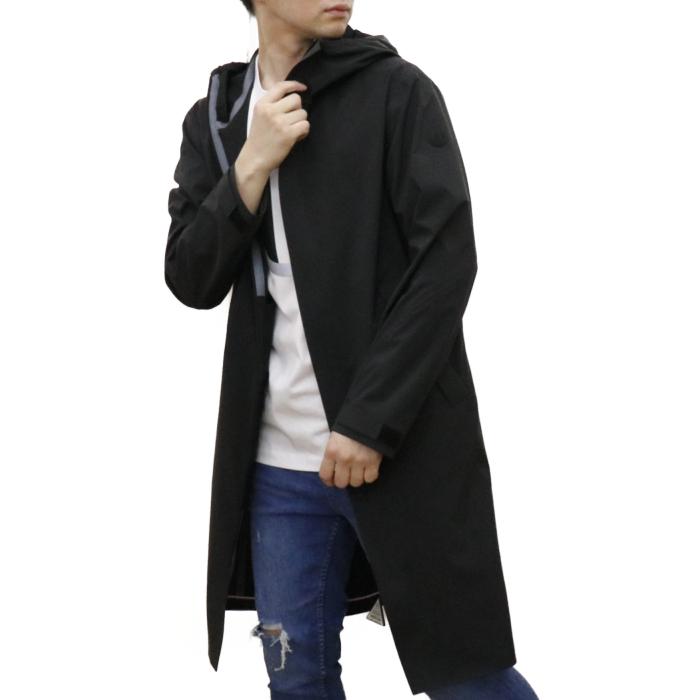 【送料無料!】モンクレール MONCLER メンズ ロング コート GAVRAS 1D70200 53A75 999 ブラック【BLACK】