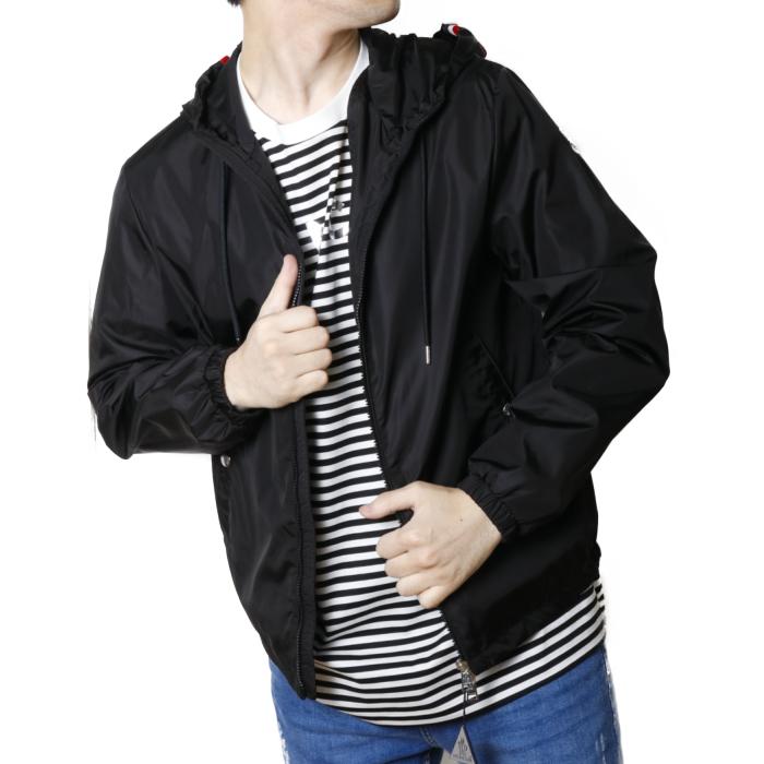 【送料無料!】モンクレール MONCLER メンズ ブルゾン ジャケット GRIMPEURS 1A73700 54155  ブラック【BLACK】
