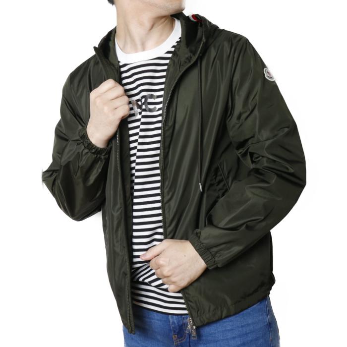 【送料無料!】モンクレール MONCLER メンズ ブルゾン ジャケット GRIMPEURS 1A73700 54155  カーキ【KHAKI】