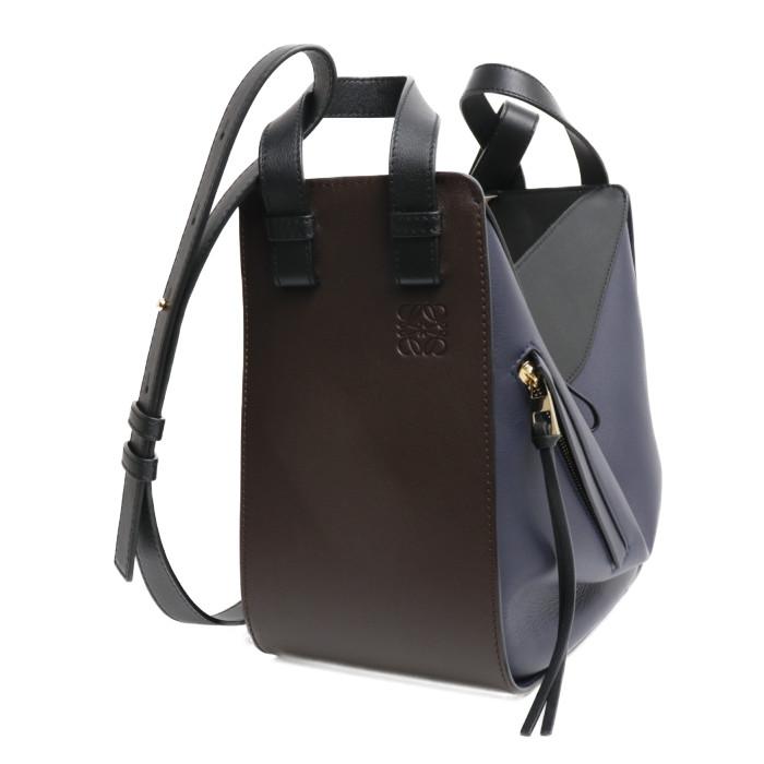 【送料無料!】 ロエベ  LOEWE ハンドバッグ HAMMOCK SMALL BAG ハンモック スモール A538S35X11 3872 チョコレート/ブラック レディース