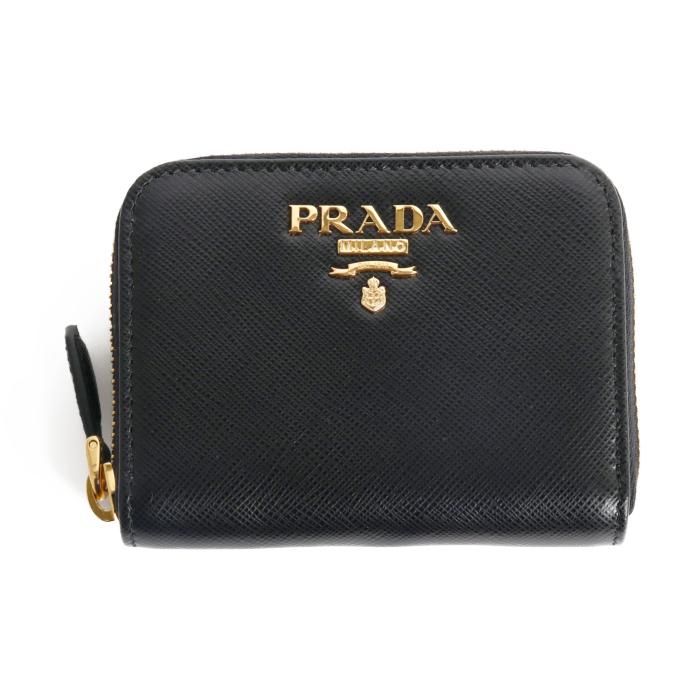 送料無料 プラダ PRADA コインケース 小銭入れ 1MM268 QWA F0002 NERO ブラック レディース