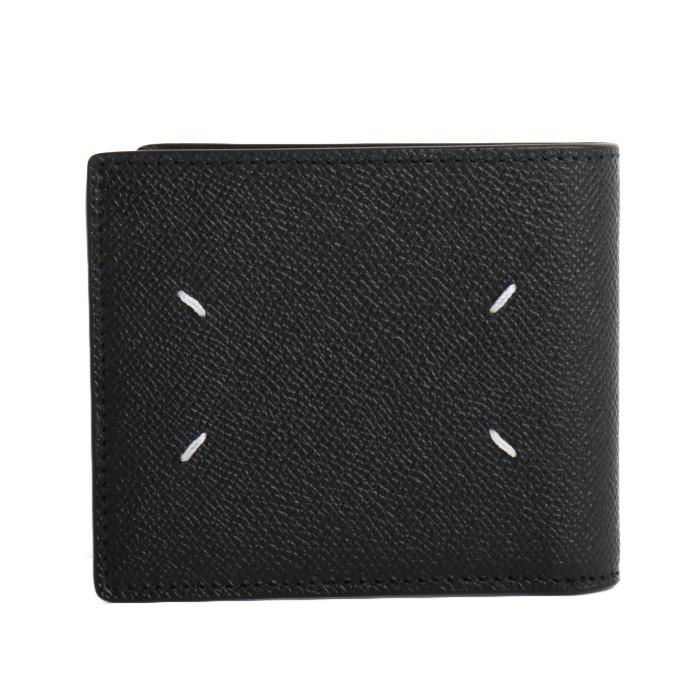 【送料無料】メゾンマルジェラ MaisonMargiela 二つ折り財布 S35UI0435 P0399 T8013 ブラック メンズ