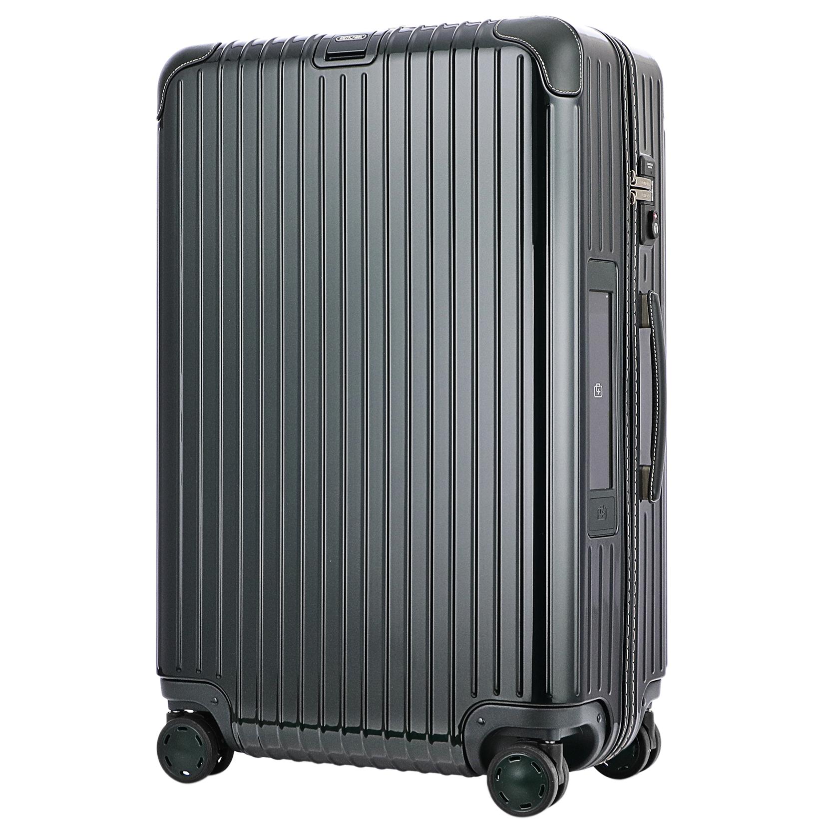 【お取り寄せ】【送料無料】リモワ RIMOWA スーツケース ボサノバ 870.70.40.5 75L 5.6kg グリーン 4泊~7泊 TSAロック 機内持ち込み不可
