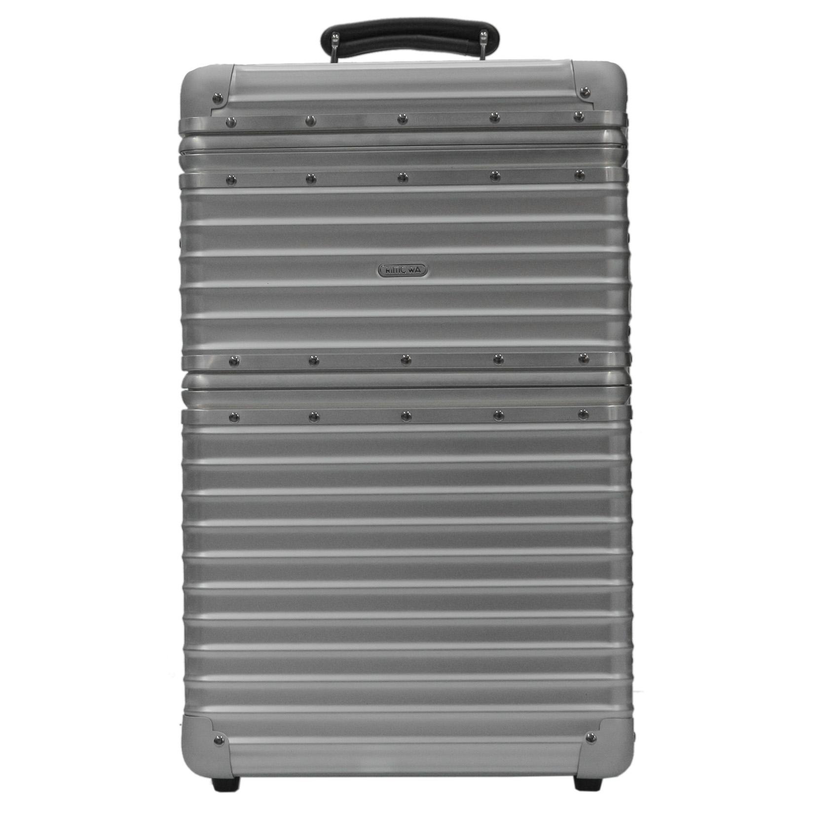 【お取り寄せ】【送料無料】リモワ RIMOWA スーツケース クラシックフライト 970.90.03.6 100L シルバー 8泊~10泊 TSAロック 機内持ち込み不可