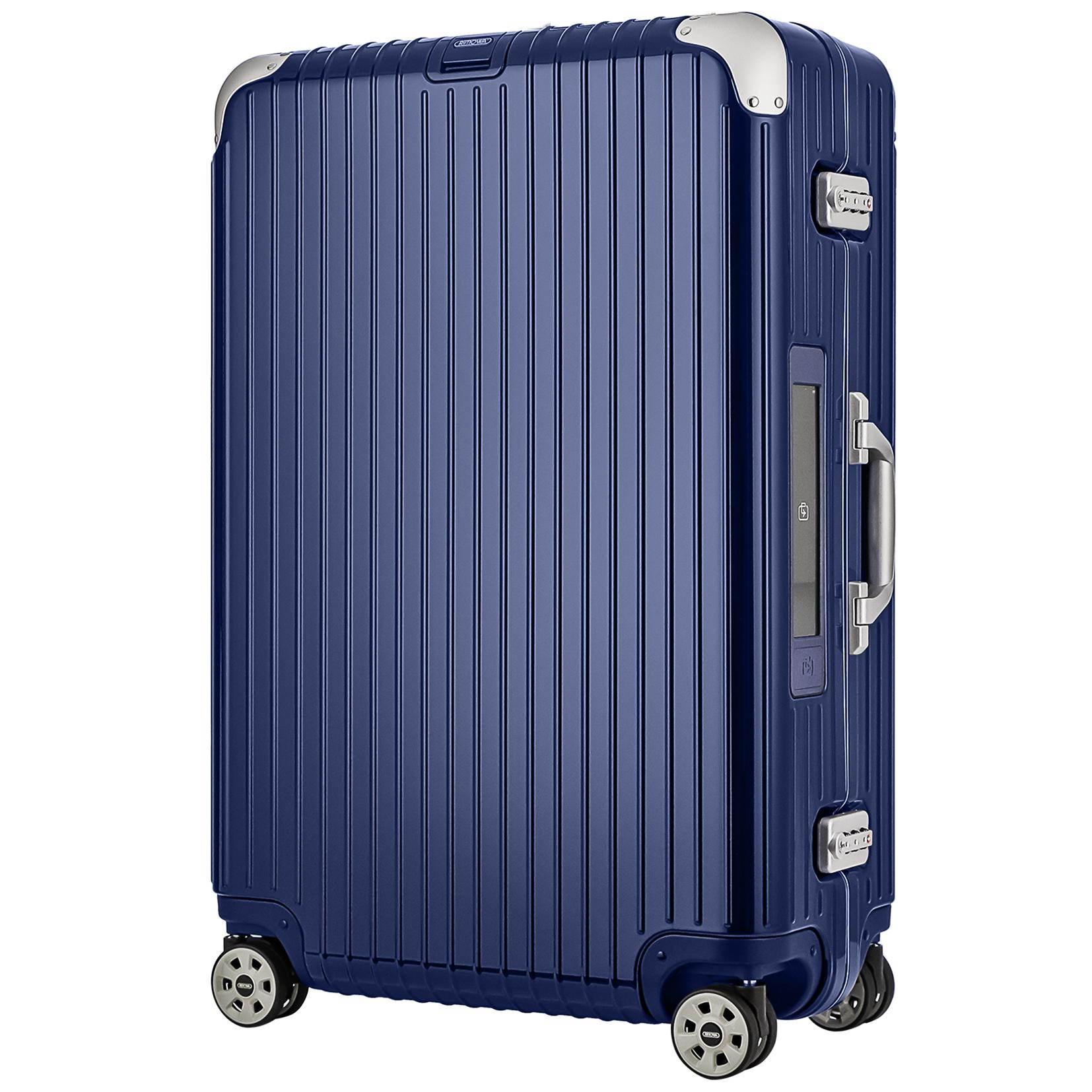 【お取り寄せ】【送料無料】リモワ RIMOWA スーツケース リンボ 882.73.21.5 75L 6.5kg ブルー 4泊~7泊 TSAロック 機内持ち込み不可