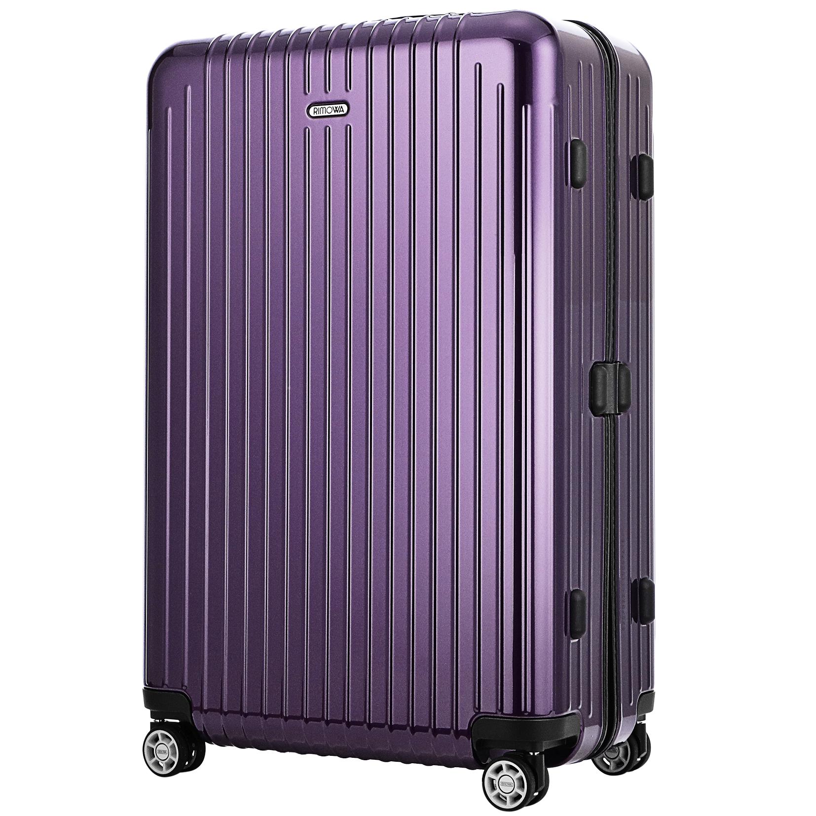 【お取り寄せ】【送料無料】リモワ RIMOWA スーツケース サルサエア- 820.70.22.4 80L 3.2kg バイオレット 4泊~7泊 TSAロック 機内持ち込み不可