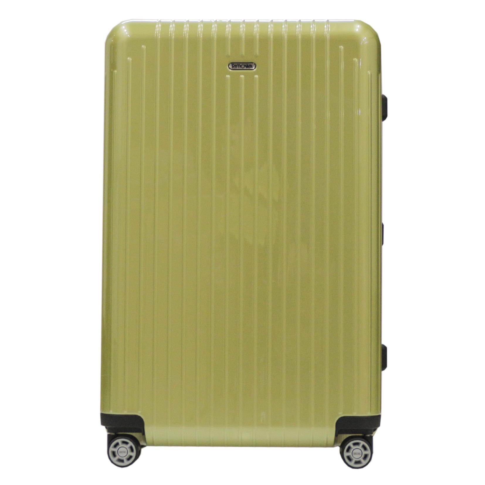 【お取り寄せ】【送料無料】リモワ RIMOWA スーツケース サルサエア- 820.70.36.4 80L 3.3kg グリーン 4泊~7泊 TSAロック 機内持ち込み不可