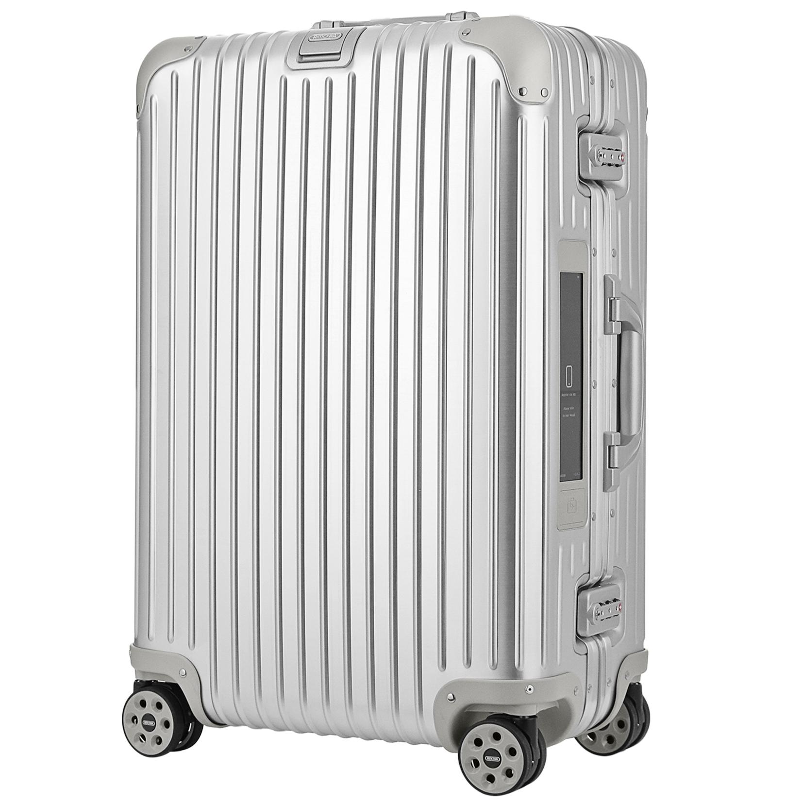 【お取り寄せ】【送料無料】リモワ RIMOWA スーツケース トパーズ 924.63.00.5 67L 6.4kg シルバー 4泊~7泊 TSAロック 機内持ち込み不可