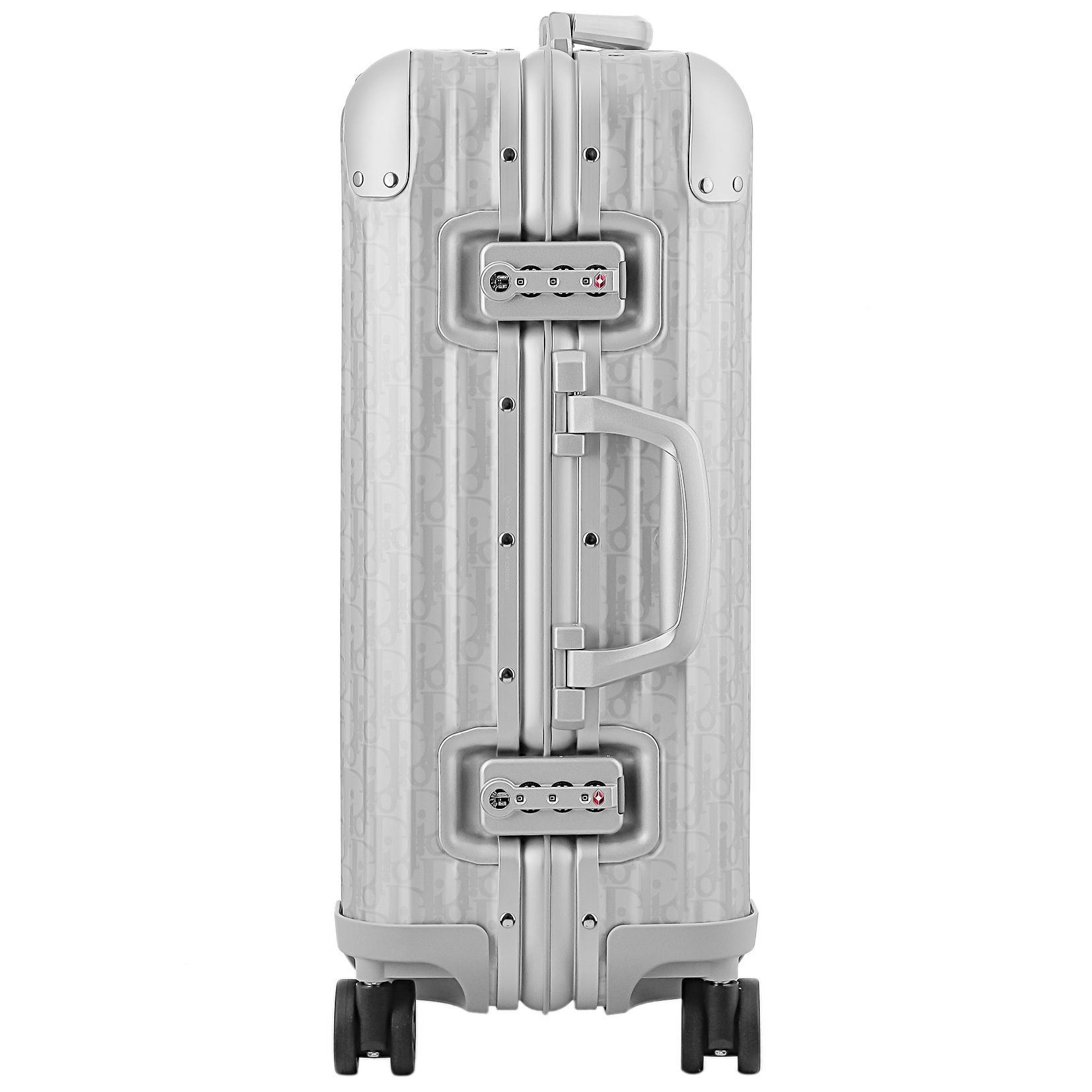 【お取り寄せ】【送料無料】リモワ RIMOWA  ディオールアンドリモワ 【DIOR AND RIMOWA】 スーツケース キャビン 925.90.02.6 35L 4.3kg シルバー 2泊~3泊 TSAロック 機内持ち込み可