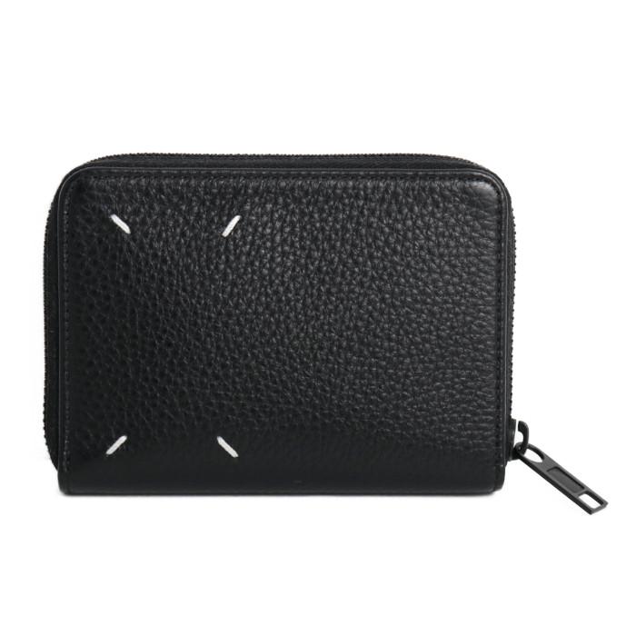 【送料無料】メゾンマルジェラ MaisonMargiela 小銭入れ付き 二つ折り財布 S55UI0187 P2686 H1669 ブラック メンズ