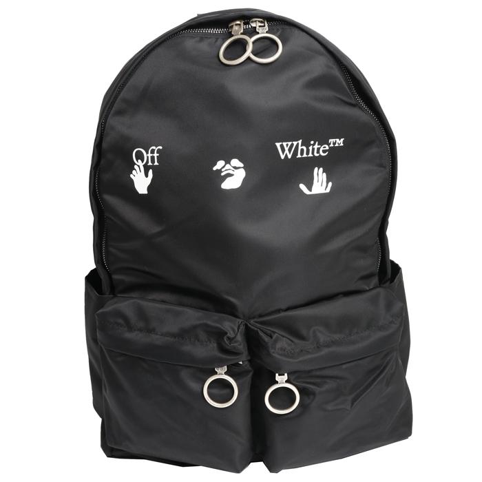 送料無料 オフホワイト Off-White バックパック OMNB003E20FAB0011001 ブラック メンズ