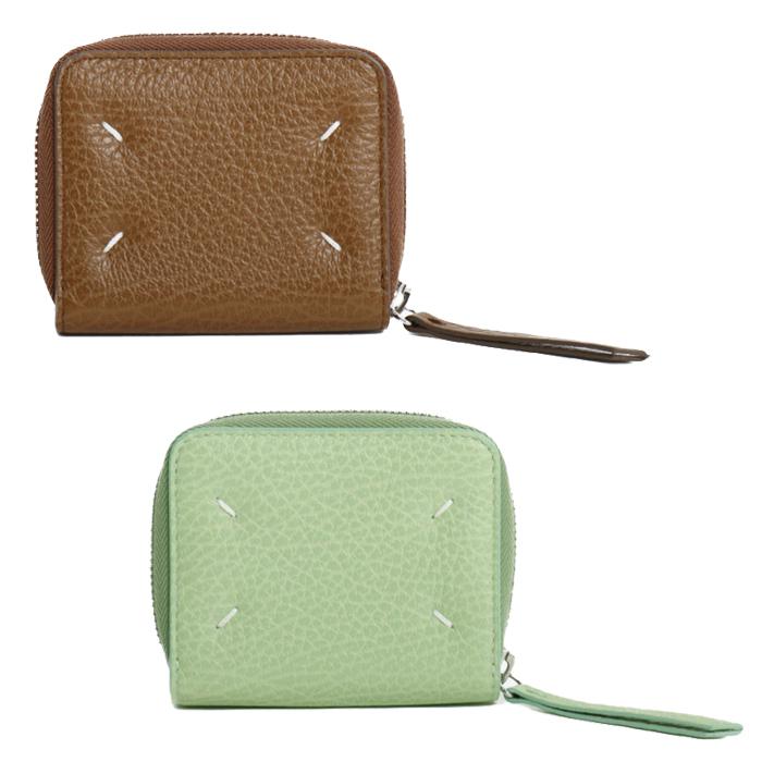 【送料無料】メゾンマルジェラ MaisonMargiela 小銭入れ付き 二つ折り財布 ミニ財布 S56UI0112 P0399 T2168 T7333 レディース メンズ ユニセックス
