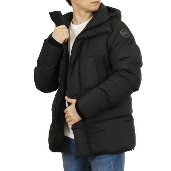 カナダグース CANADA GOOSE メンズ ダウンジャケット OSBORNE PARKA オズボーン パーカ 2602MB  ブラック【BLACK】