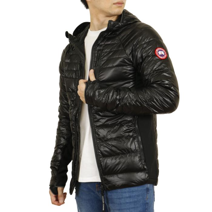 カナダグース CANADA GOOSE メンズ ダウンジャケット HYBRIDGE LITE HOODY QUILTED ハイブリッジライト フーディ 2712M  ブラック【BLACK】