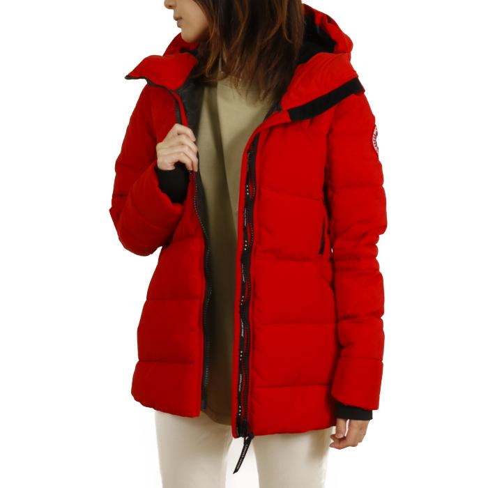 【送料無料!】カナダグース CANADA GOOSE レディース ダウンジャケット HYBRIDGE COAT ハイブリッジ コート 2742L  レッド【RED】