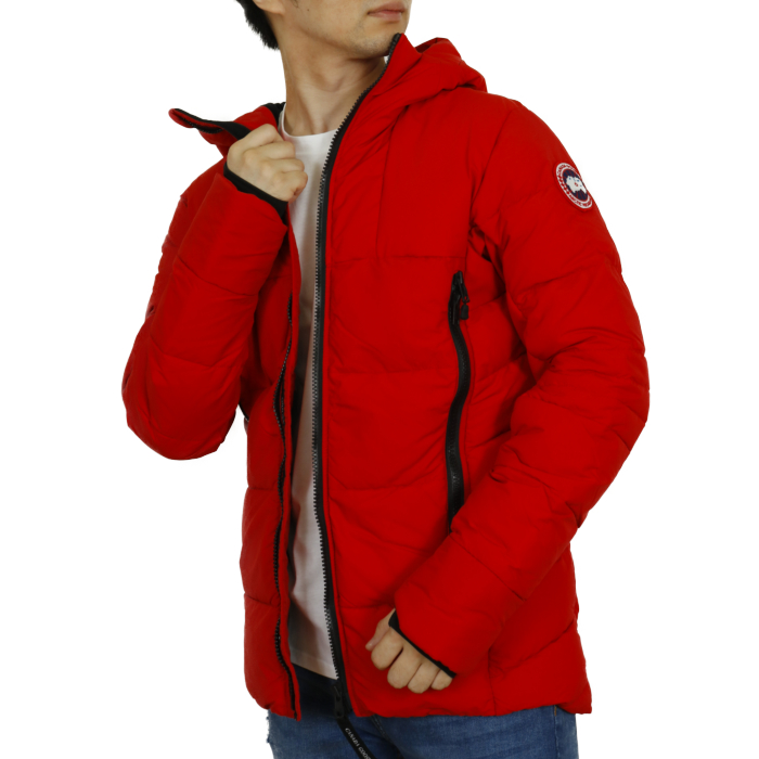 カナダグース CANADA GOOSE メンズ ダウンジャケット HYBRIDGE COAT ハイブリッジ コート 2742M  レッド【RED】