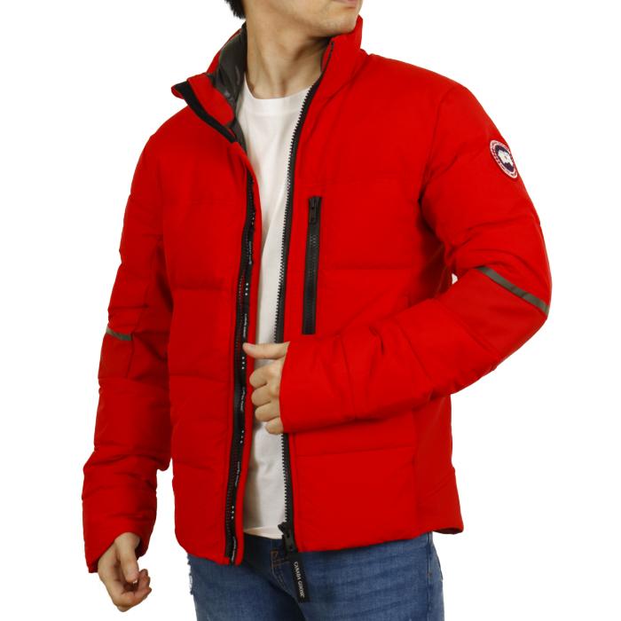 カナダグース CANADA GOOSE メンズ ダウンジャケット HYBRIDGE JACKET ハイブリッジ ジャケット 2744M  レッド【RED】
