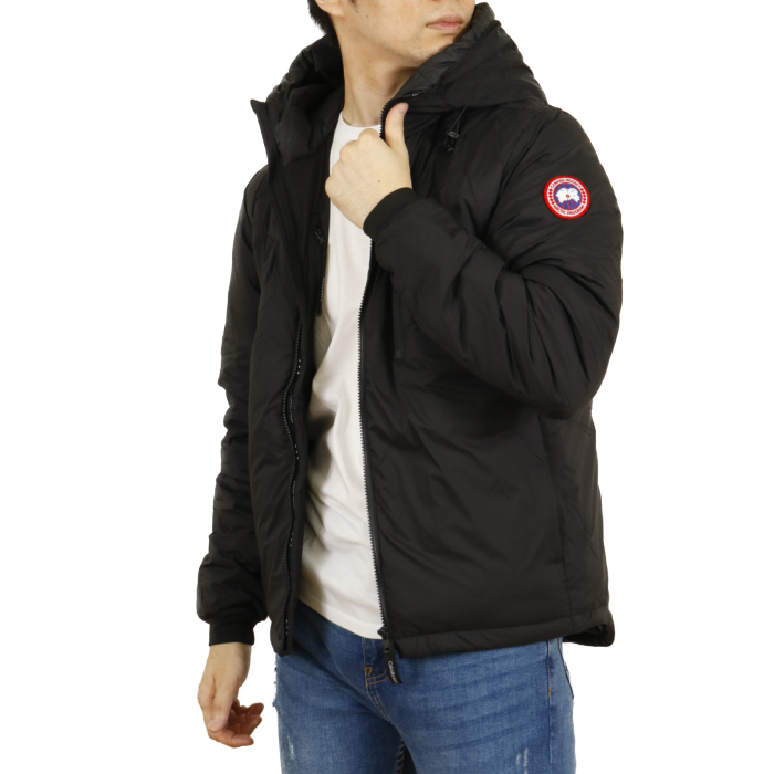 カナダグース CANADA GOOSE メンズ ダウンジャケット LODGE HOODY ロッジ フーディ 5078M  ブラック【BLACK】