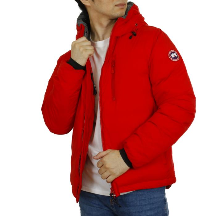 カナダグース CANADA GOOSE メンズ ダウンジャケット LODGE HOODY ロッジ フーディ 5078M  レッド【RED】
