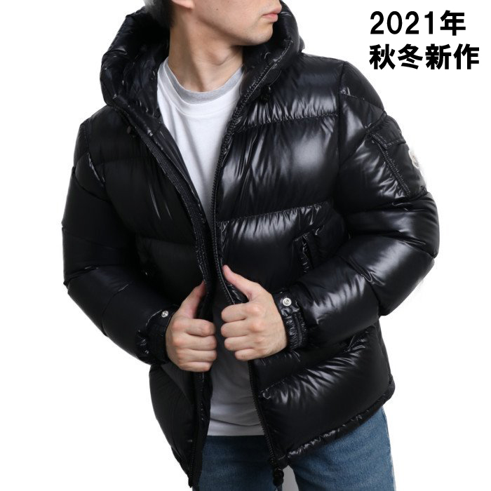 モンクレール MONCLER メンズ ダウンジャケット ECRINS 1A54500 68950 999 ブラック【BLACK】