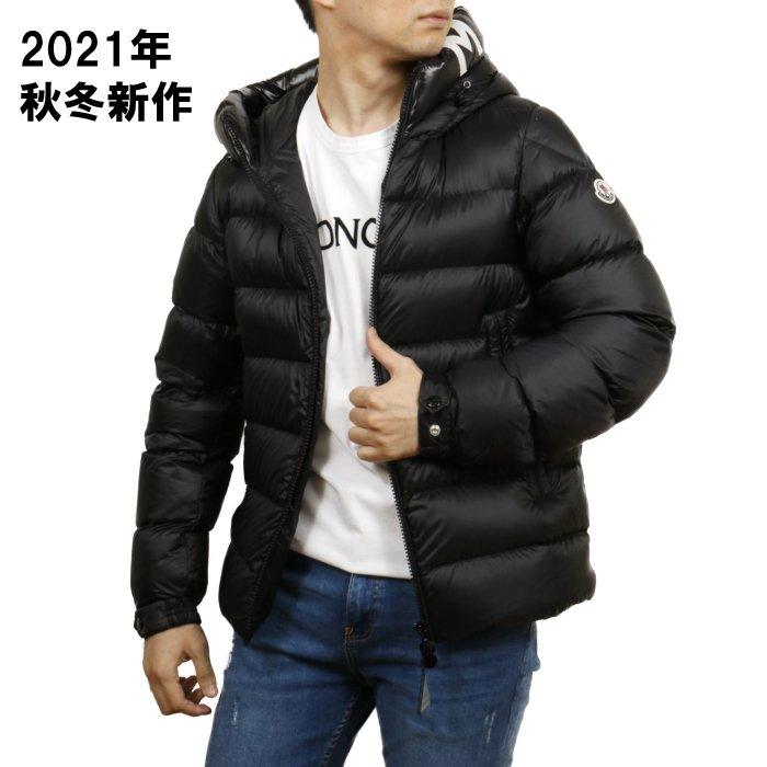 モンクレール MONCLER メンズ ダウンジャケット SALZMAN 1A00009 53048 999 ブラック【BLACK】