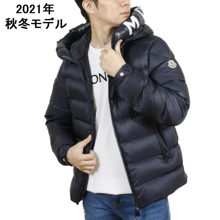 モンクレール MONCLER メンズ ダウンジャケット SALZMAN 1A00009 53048 742 ネイビー【NAVY】