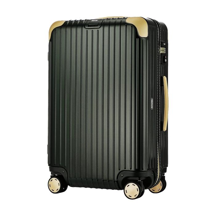 【お取り寄せ】リモワ RIMOWA スーツケース ボサノバ 870.63.41.4 62L 4.6kg 電子タグ グリーン ベージュ 5泊~7泊目安 TSAロック 4輪 機内持ち込み不可