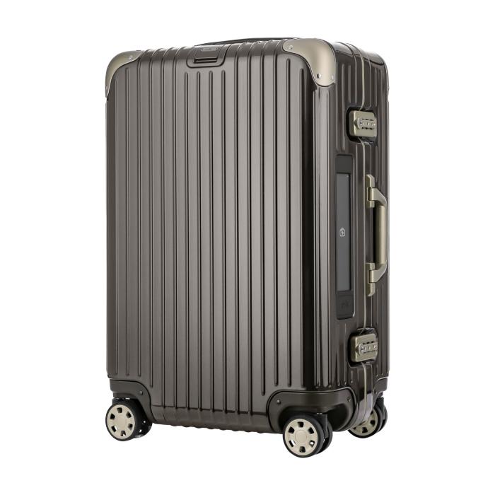 【お取り寄せ】リモワ RIMOWA スーツケース リンボ 882.63.33.5 60L 5.7kg 電子タグ グラナイ トブラウン 5泊~7泊目安 TSAロック 4輪 機内持ち込み不可