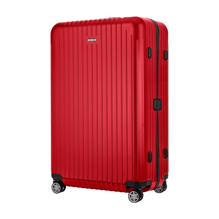 【お取り寄せ】リモワ RIMOWA スーツケース サルサエアー  820.73.46.4 91L 3.8kg 電子タグ ガーズ レッド 7泊~10泊目安 TSAロック 4輪 機内持ち込み不可