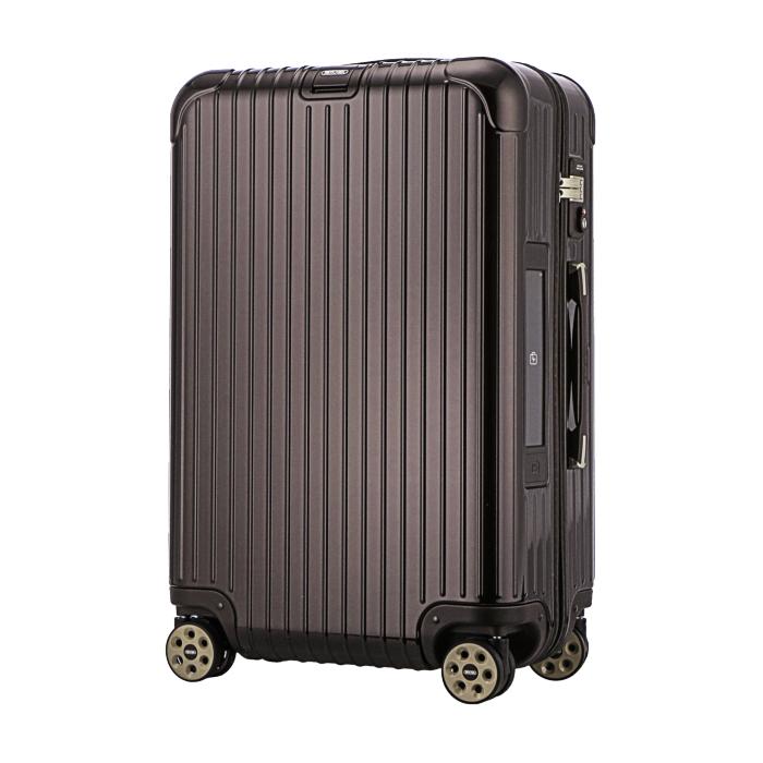 【お取り寄せ】リモワ RIMOWA スーツケース サルサデラックス 831.63.52.5 63L 5.2kg 電子タグ ブラウン 5泊~7泊目安 TSAロック 4輪 機内持ち込み不可