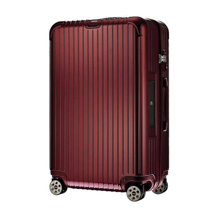 【お取り寄せ】リモワ RIMOWA スーツケース サルサデラックス 831.70.53.5 78L 5.4kg 電子タグ オリエント レッド 5泊~7泊目安 TSAロック 4輪 機内持ち込み不可
