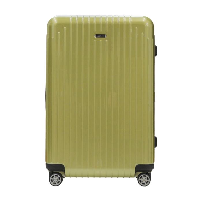 【お取り寄せ】リモワ RIMOWA スーツケース サルサエアー  820.63.36.4 65L 3.2kg 電子タグ ライム グリーン 5泊~7泊目安 TSAロック 4輪 機内持ち込み不可