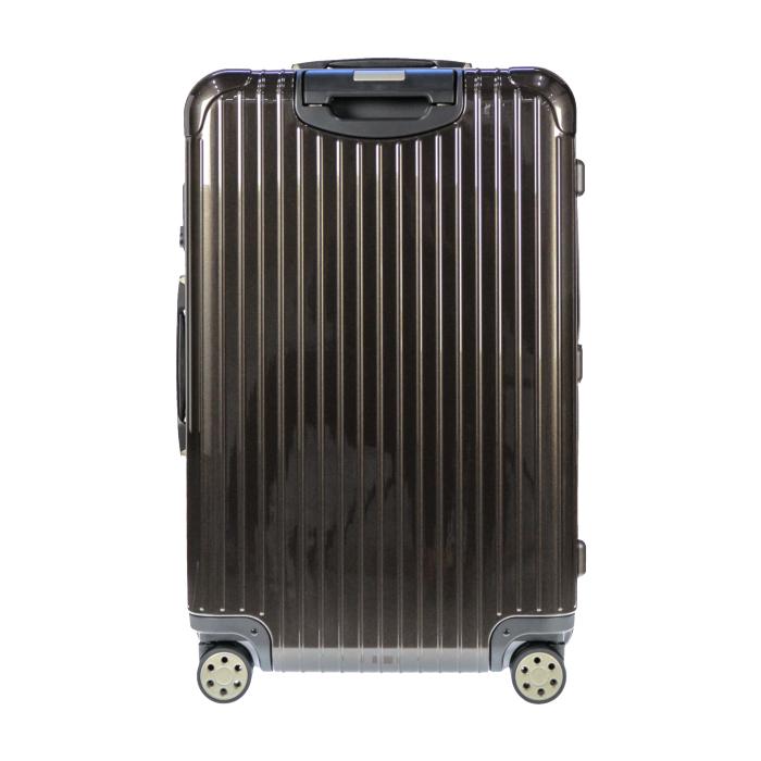 【お取り寄せ】リモワ RIMOWA スーツケース サルサデラックス 831.70.33.5 78L 5.4kg 電子タグ グラナイト ブラウン 5泊~7泊目安 TSAロック 4輪 機内持ち込み不可