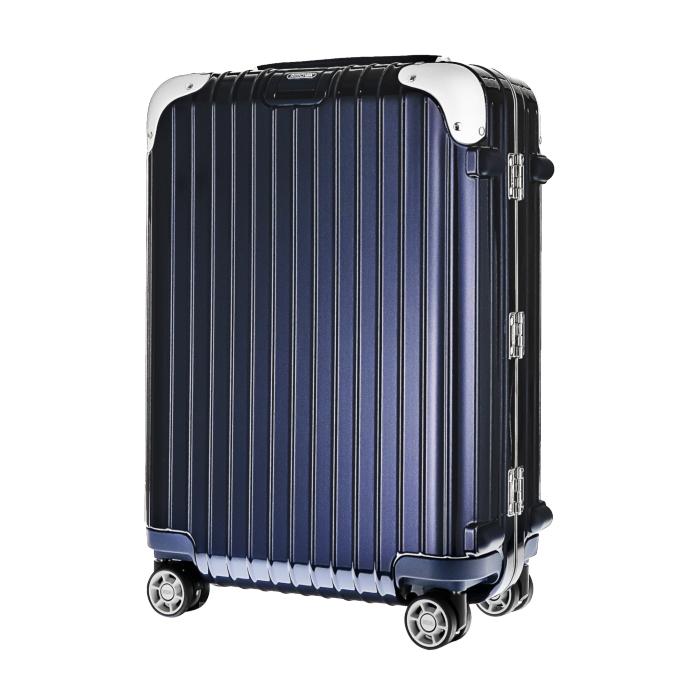 【お取り寄せ】リモワ RIMOWA スーツケース リンボ 881.52.21.4 32L 4.2kg 電子タグ ナイト ブルー 2泊~3泊目安 TSAロック 4輪 機内持ち込み可
