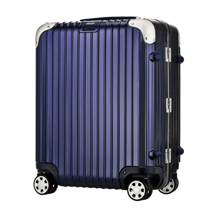 【お取り寄せ】リモワ RIMOWA スーツケース リンボ 881.56.21.4 45L 4.9kg 電子タグ ナイト ブルー 3泊~5泊目安 TSAロック 4輪 機内持ち込み不可