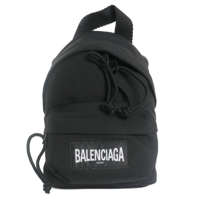 バレンシアガ BALENCIAGA  ミニリュック ショルダーバッグ ミニバッグ 656060 2JMRX 1000 BLACK ブラック レディース