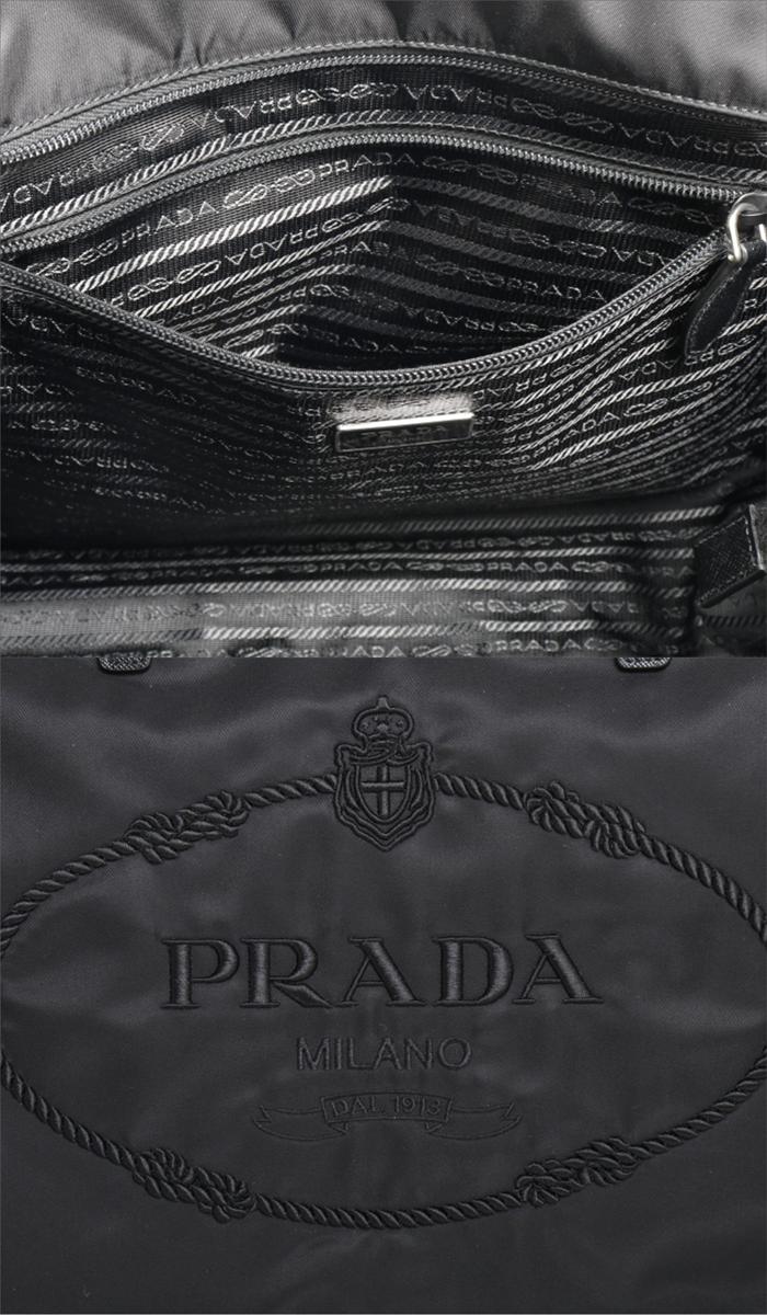プラダ PRADA トートバッグ 1BG052 2DGV F0002 NERO ブラック レディース