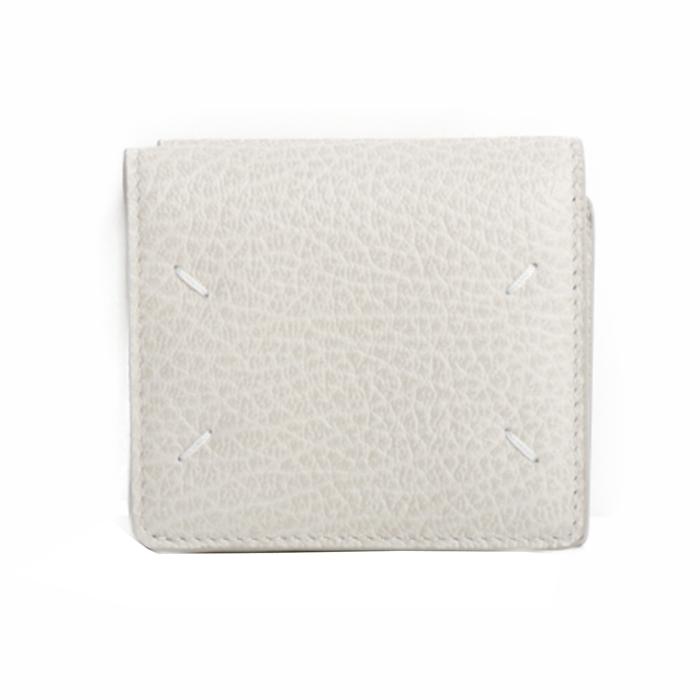 メゾンマルジェラ Maison Margiela 三つ折り財布 S56UI0150 P0399 T2003 ホワイト メンズ レディース