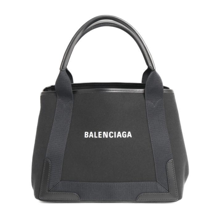 バレンシアガ BALENCIAGA トートバッグ NAVY CABA S 339933 2HH3N 1000 ブラック レディース