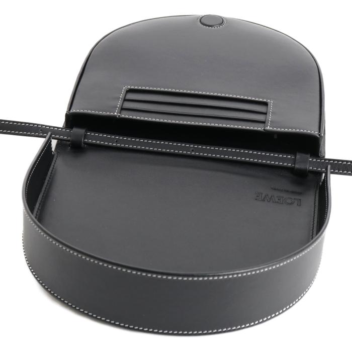 ロエベ LOEWE ヒールバッグ BOLSO HEEL ミニ バッグ レザー109 54 V01 1100 ブラック レディース