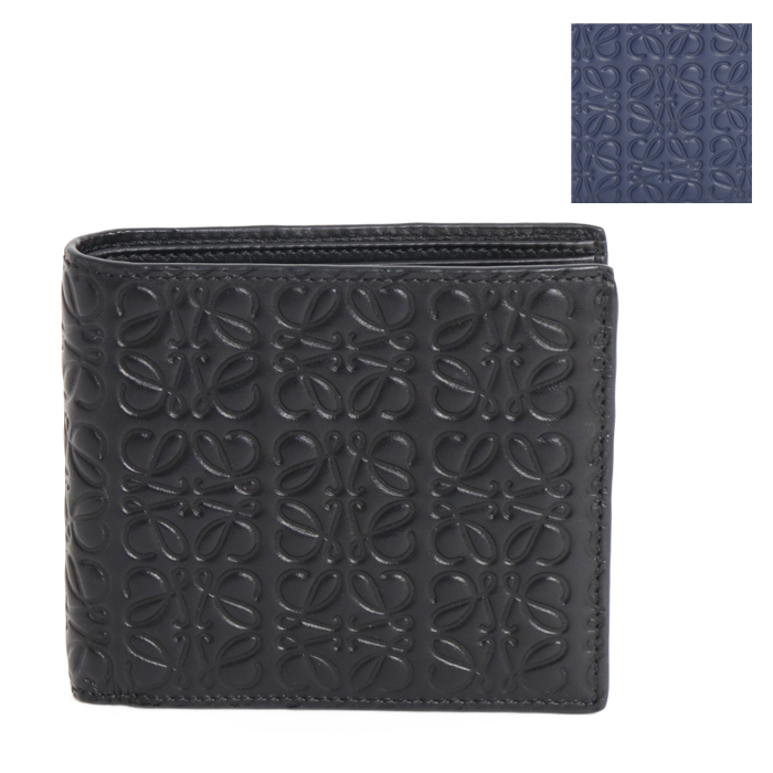 ロエベ LOEWE 二つ折り財布 BIFOLD WALLET ビフォールド ロゴ アナグラム 107 55 302 メンズ