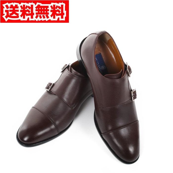 キースバリーKV-065BRブラウンサイズ25.0紳士靴【KEITHVALLERBR】