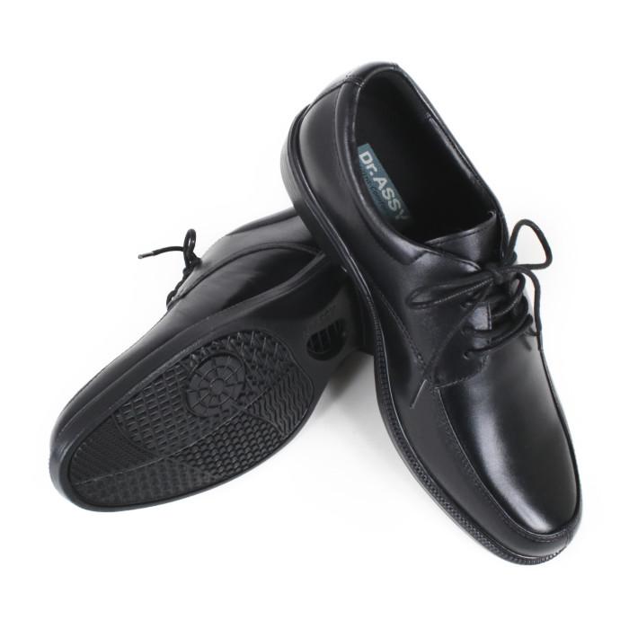 ドクターアッシーDR-6045BKブラックサイズ255紳士靴【Dr.ASSYBK】