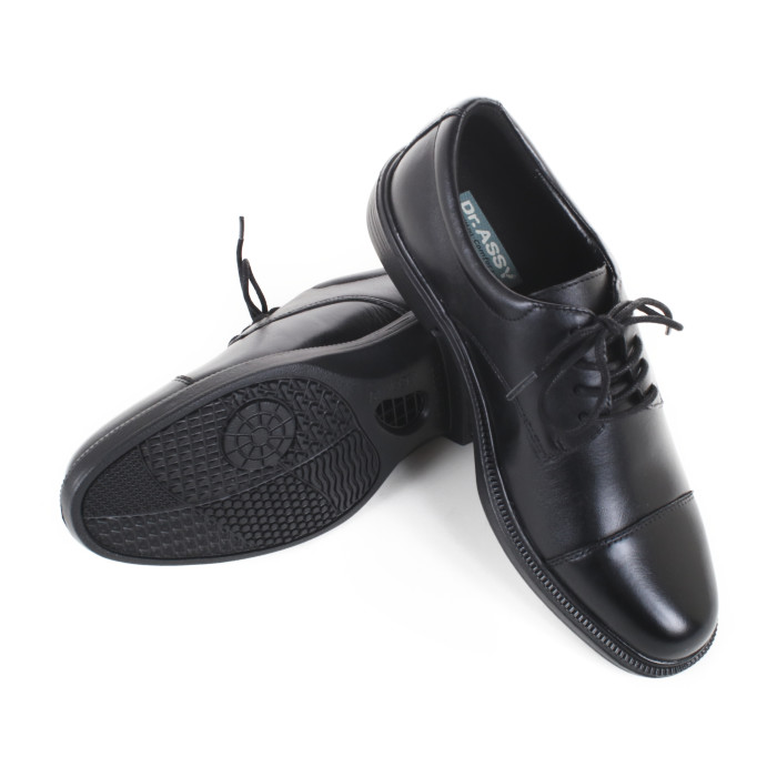 ドクターアッシーDR-6047BKブラックサイズ245紳士靴【Dr.ASSYBK】