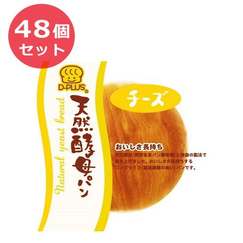 48個セット デイプラス パン 菓子パン 天然酵母パン チーズ