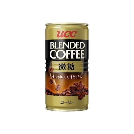 UCC ブレンドコーヒー缶微糖 185g